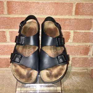 210cec51e9ea Birkenstock Shoes - Birkenstock Birki s Woman 7 38 Milano ankle strap